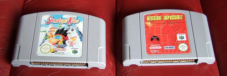 mission impossible game pc. Two games for the Nintendo 64: