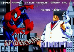 Amazing Spider-Man Vs. Kingpin Start Screen